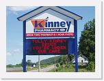 Kinney Drugs Red, 24x64 matrix