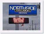 Northside Collision Red, 24x96 matrix