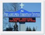 Philadelphia Christian Center Red, 16x120 matrix