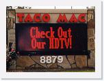 Taco Mac Red, 48x128 matrix
