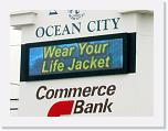 Commerce Bank - Ocean City, NJ, 32x128 matrix
