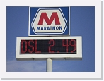 Marathon Oil, Red Roadstar, 16x64 matrix)