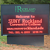 Outdoor Red LED Sign